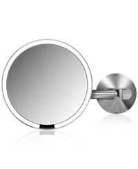 Simplehuman Wall Mount Lighted Sensor Activated Magnifying Vanity Makeup Mirror No Color