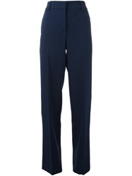 Cedric Charlier Tailored Trousers Blue
