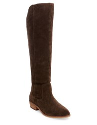 Steve Madden Emmery Suede Riding Boot Brown
