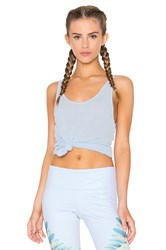 Alo Yoga Sculpt Tank Light Blue