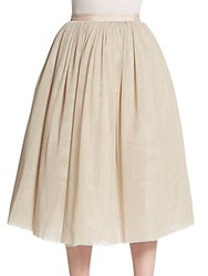Elizabeth And James Everleight Sparkle Full Skirt Parchment