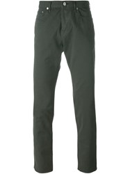 Paul Smith Jeans Straight Leg Jeans Green