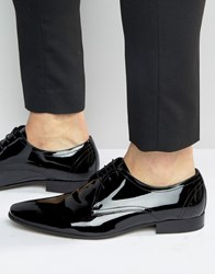 Kg By Kurt Geiger Antoni Patent Leather Tassel Loafers Black