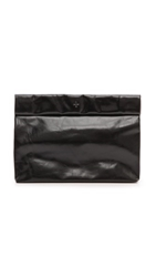 Marie Turnor Accessories The Lunch Clutch Black