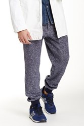 Grayers Loop Back Pull On Pant Blue