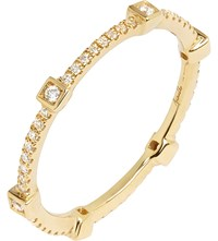 Annoushka 18Ct Yellow Gold And Diamond Eternity Ring