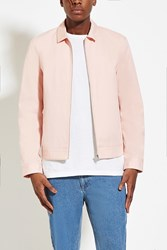 Forever 21 Canvas Jacket Pink