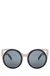 Erdem X Linda Farrow Cateye Sunglasses Grey