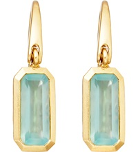 Astley Clarke 18Ct Gold Vermeil Quartz Drop Earrings