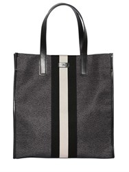 Bally Web Nylon Tote Bag