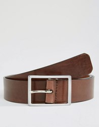 Royal Republiq Volcano Leather Belt In Brown Brown
