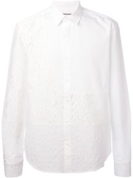 Wooyoungmi Distressed Shirt White
