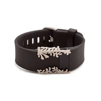 Bytten Matisse Cuff Fitbit Charge And Charge Hr Accessorynickel Steel