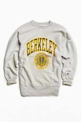 Urban Outfitters Vintage Berkeley Crew Neck Sweatshirt Grey