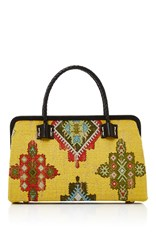 Marian Paquette Laura Frame Bag Yellow