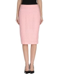 Ndegree 21 3 4 Length Skirts Pink
