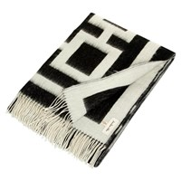 Jonathan Adler Richard Nixon Throw Black Natural