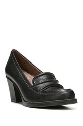 Naturalizer Yugo High Heel Loafer Wide Width Available Black