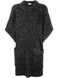 See By Chloe Oversized Marled Jumper Black