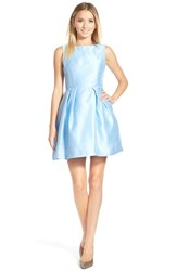 Junior Women's Soprano Bow Back Fit And Flare Dress Cinderella Blue