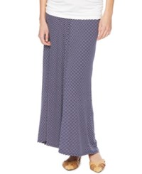 Motherhood Maternity Chevron Print Maxi Skirt