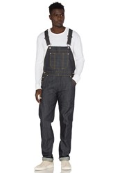 Naked And Famous Left Hand Twill Selvedge Overalls Indigo