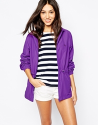 Jack Wills Rain Mac Purple