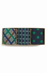 Men's The Tie Bar Green Sock Style Box