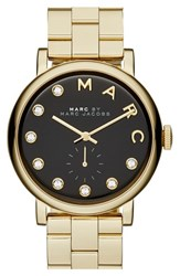 Marc By Marc Jacobs Women's Baker Crystal Index Bracelet Watch 36Mm