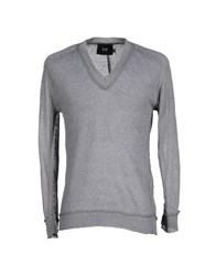 Dandg Knitwear Jumpers Men Grey