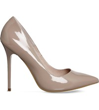 Office Onto Patent Leather Courts Nude Patent