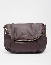Mango Cross Body Bag With 2 Compartments Brown