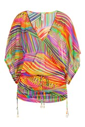 Luli Fama Printed Tunic Multicolor