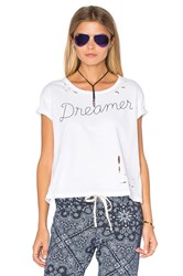 Sundry Texture Jersey Dreamer Loose Tee White