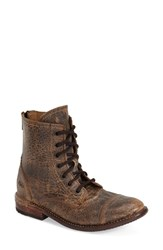 Women's Bed Stu 'Laurel' Cap Toe Boot Teak Leather