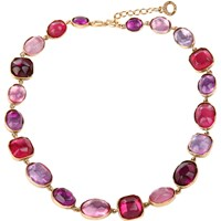 Goossens Paris Rock Crystal Necklace Multi