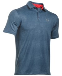 Under Armour Men's Playoff Performance Golf Polo Squadron Blue