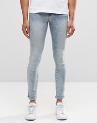 Dr. Denim Dr Denim Kissy Extreme Super Skinny Jeans Light Blue Crush Light Blue Crush