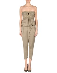 Met Miami Cocktail Jumpsuits Sand
