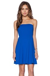 Susana Monaco Tube Gore Dress Blue