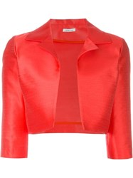P.A.R.O.S.H. Cropped Jacket Red