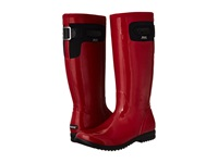 Bogs Tacoma Solid Tall Red Women's Rain Boots