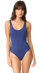 Solid And Striped The Anne Marie One Piece Navy