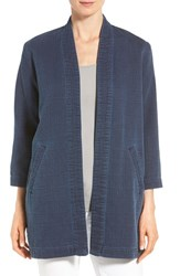 Women's Eileen Fisher Long Cotton Kimono Jacket