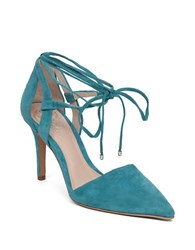 Vince Camuto Bellamy Suede Pumps Turquoise