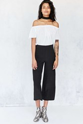 Ecote Lila Crop Pull On Pant Black