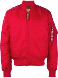 Alpha Industries Classic Flight Jacket Red