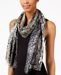 Inc International Concepts Snakeskin Printed Wrap Only At Macy's Neutral