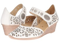 Spring Step Nougat White Women's Shoes