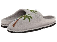 Haflinger Paradise Light Grey Women's Slippers Gray